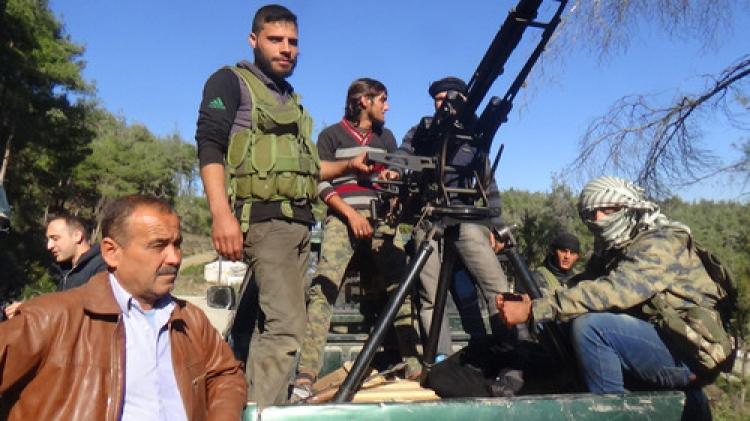 Gazeteciler, çatışmaların yaşandığı bölgede