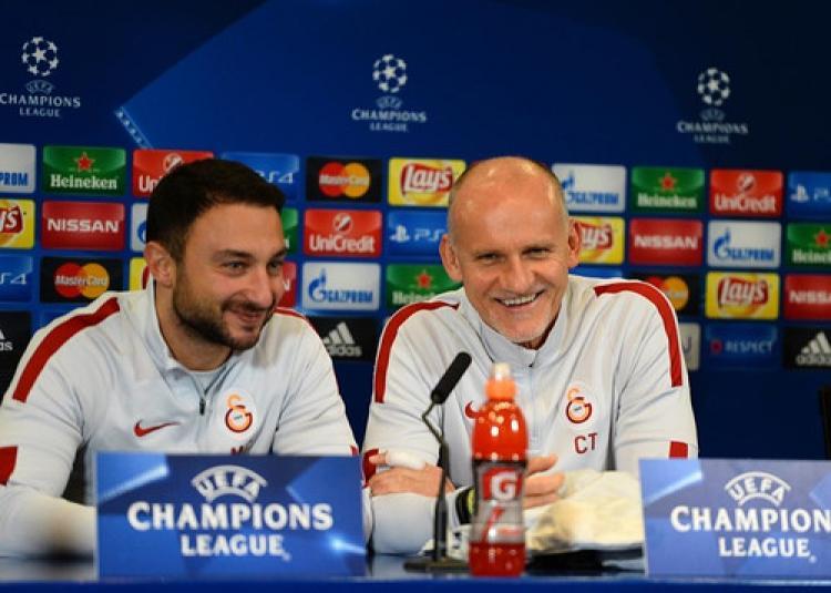 Galatasaray Atletico Madrid maçından umutlu