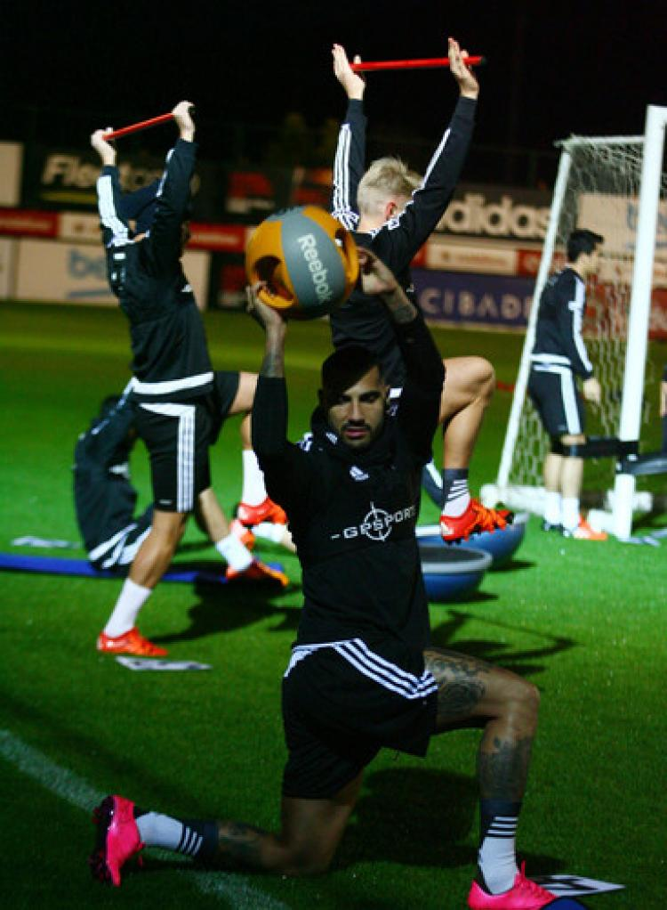 Beşiktaş'ta, Skenderbeu maçı hazırlıkları devam etti