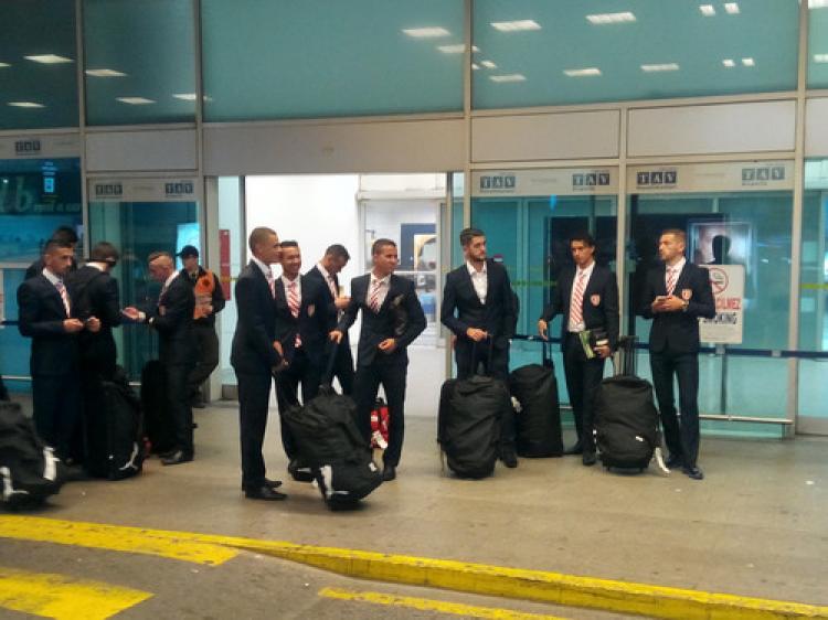 Skenderbeu takımı İstanbul'a geldi