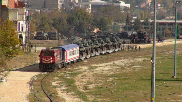 Gaziantep'te askeri hareketlilik