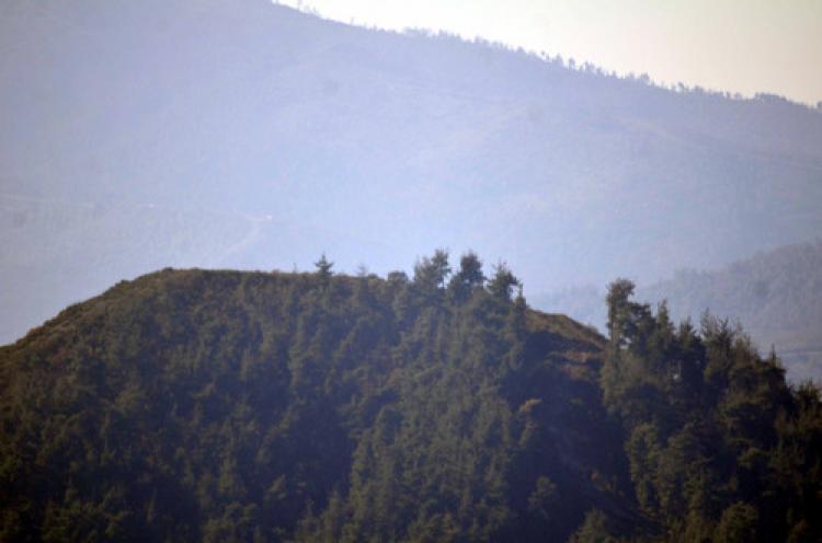 Türkmen dağına atılan toplara halk alıştı