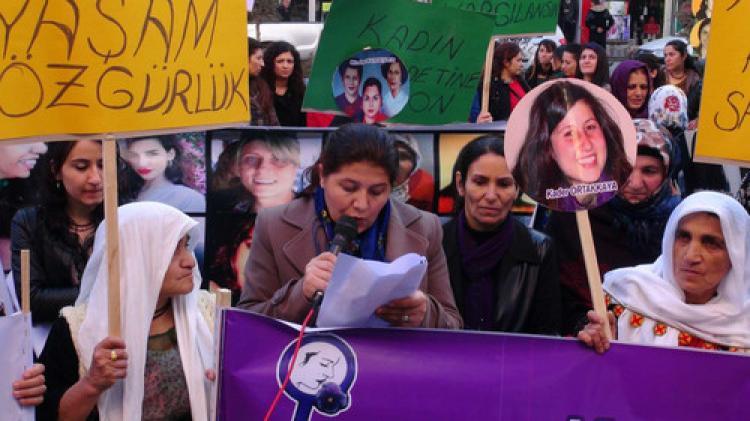 Hakkari'de 'Kadına Yönelik Şiddete Karşı Ulusal Mücadele Günü' yürüyüşü
