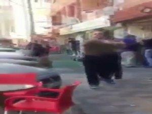 Bursa'da tekme tokat müşteri kavgası
