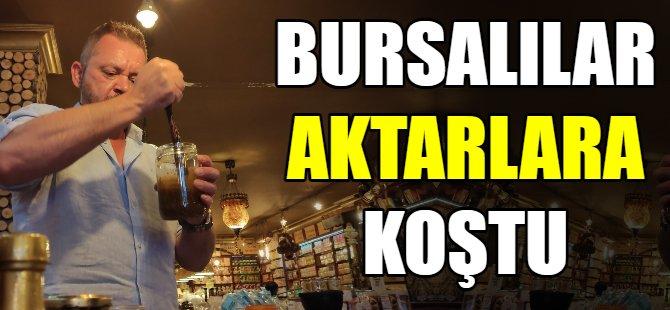 Bursalılar aktarla koştu