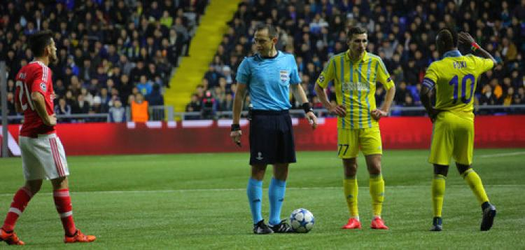 Astana: 2 - Benfica: 2