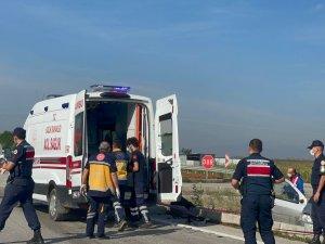 Yenişehir'de kaza: 1 ölü 1 yaralı