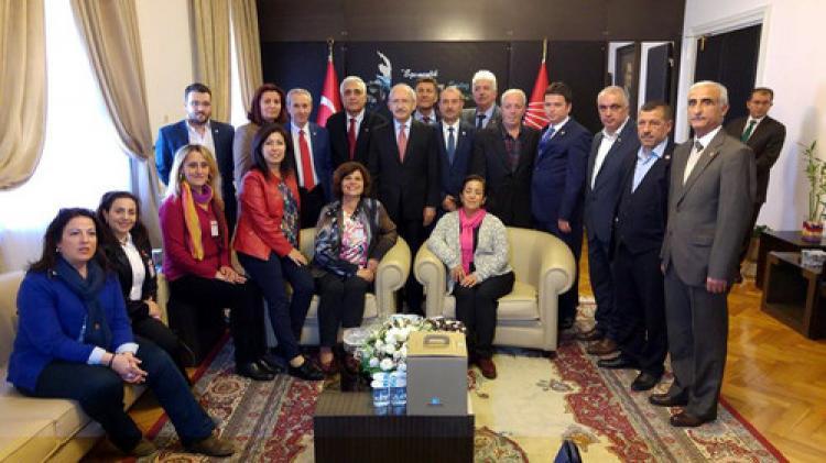 Mudanyalı CHP'liler Ankara'da...