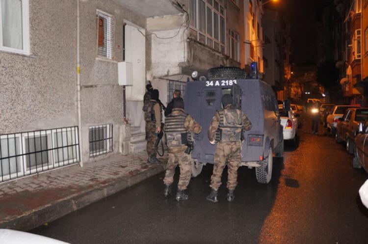 Bağcılar'da polis baskını