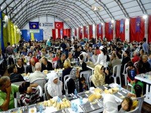 Osmangazi Belediyesi Kosova'da iftar verdi