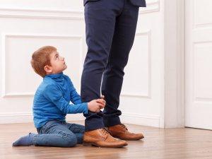 Babalar çocuklarına hasret kalıyor