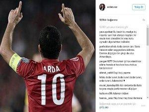Arda'dan eleştirilere fotoğraflı yanıt