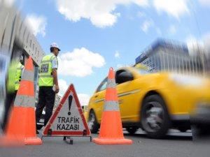 235 Bin Trafik kazası oldu