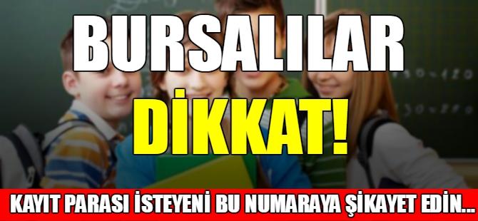 Bursalılar dikkat!