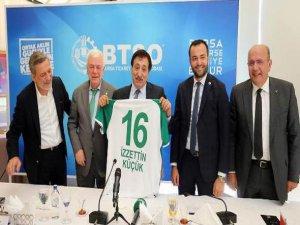 Bursaspor'a destek
