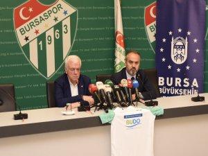 Büyükşehir'den Bursaspor'a destek
