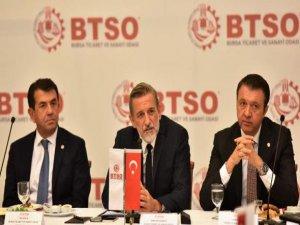 Bursa'da başkanlar bir araya geldi