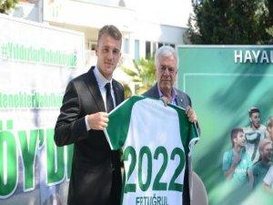 Bursaspor 2022'ye kadar uzattı