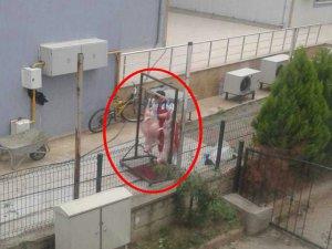 Bursa'da skandal görüntü!
