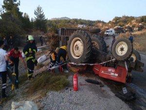 Genç çifti traktör ayırdı!