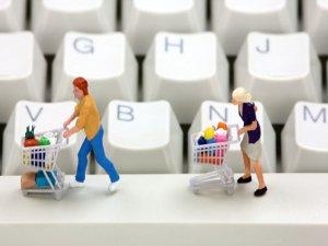 Kriz e-ticareti teğet geçecek