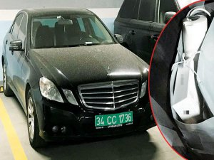 Otoparktaki Mercedes'in sırrı!