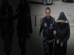 Zehir taciri kadın yakalandı!