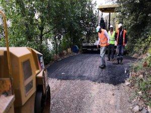 Osmangazi'de asfalt çalışması