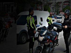 Motosikletliyi şaşkına uğratan ceza!