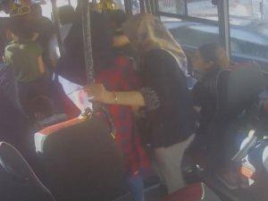 Minibüs şoförüne sopalı saldırı!