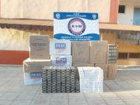 Elazığ'da 12 bin 500 paket kaçak sigara ele geçirildi