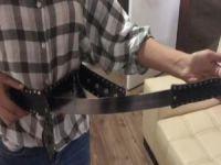 Bursa'da kılıçla ev bastılar!