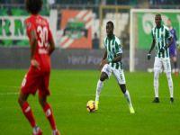 Bursaspor'da hayal kırıklığı