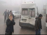 Bursa'da zincirleme kaza!