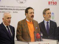 TOBB başkanı Bursa'da