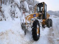 Bursa'da kar mesaisi!