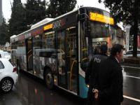 Otobüste taciz kavgası!