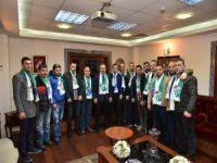 Başkan Aktaş'dan Bursaspor'a destek