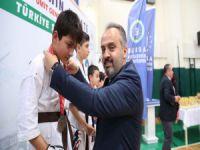 Bursa'da Karate Şampiyonası başladı