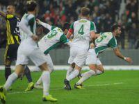 Bursasporlu futbolcular maçı değerlendirdi