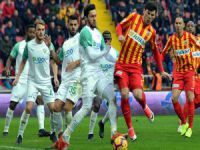 Kayserispor 1- Bursaspor 1
