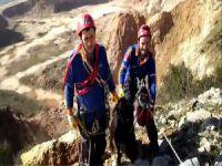 Bursa'da keçi kurtarma operasyonu