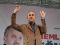 Çavuşoğlu Bursa'da