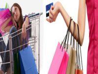 Kadınların alışveriş tutkusu!
