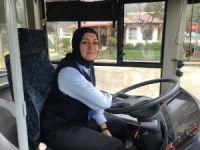 Bursa'nın ilk ve tek kadın şoförü