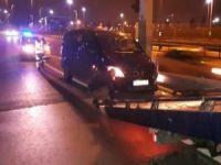 Uber sürücüsü dehşet saçtı!