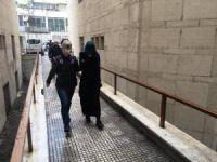 Kadın terörist adliyeye böyle getirildi