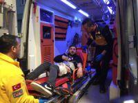Bursa'da baba ile oğlunu bıçakladı