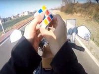 Trafikte korkutan görüntü