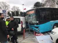 Özel halk otobüsü dehşet saçtı!